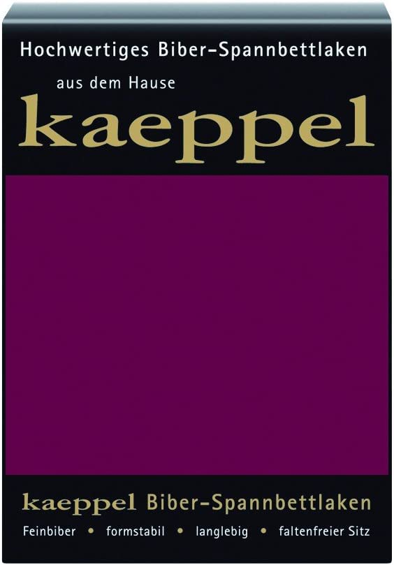 Steghöhe 30 cm Kaeppel Biber Spannbettlaken Farbe mint 100/% Baumwolle