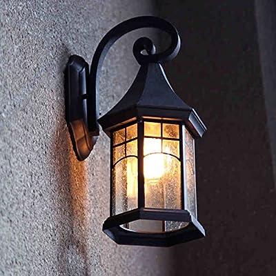 lámpara de Pared Continental Retro Lampara de Pared Exterior ...