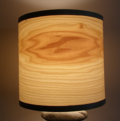Natural wood poplar veneer shade product image