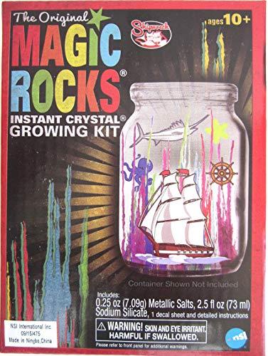 Big Game Toys~Original Magic Rocks Instant Crystal Growing Kit Fun Science Project