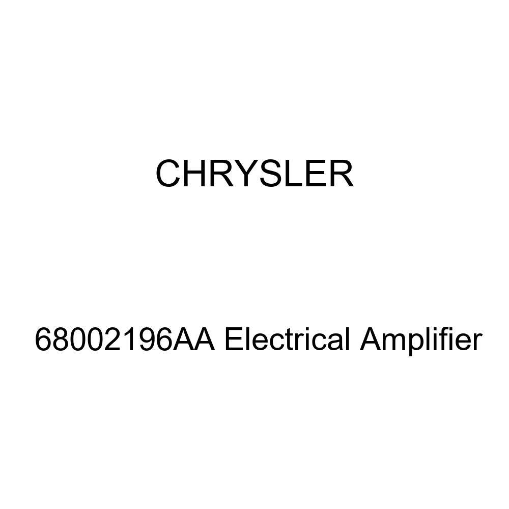 Genuine Chrysler 68002196AA Electrical Amplifier