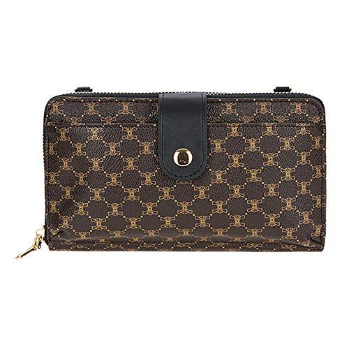 VF Mini Zip Around Smartphone Clutch Handbag (black)