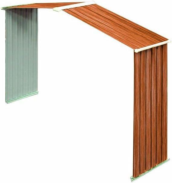 La Duramax Riverton 6 x 8 con estructura de jardín de metal: Amazon.es: Jardín