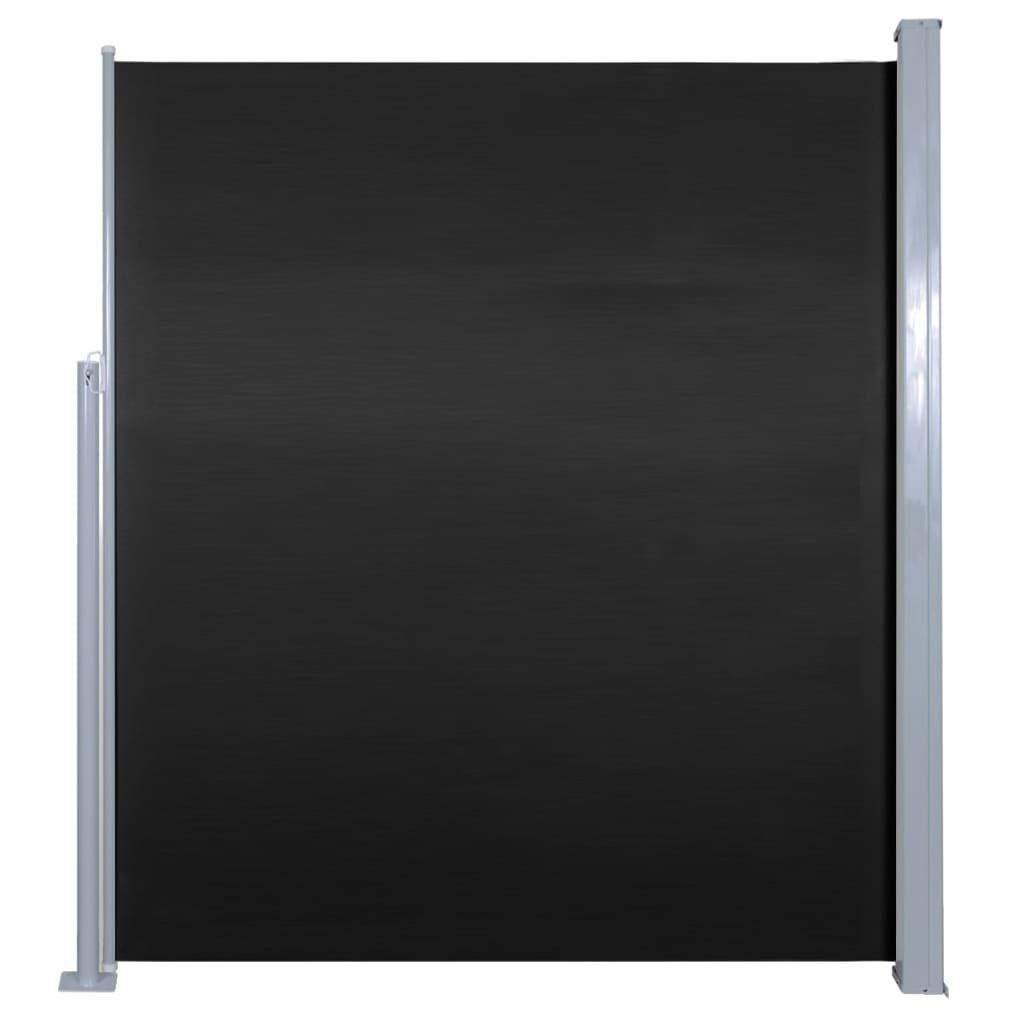 Vidaxl Seitenmarkise 160x500cm Sichtschutz Windschutz Sonnenschutz