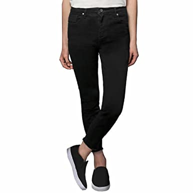 Kenneth Cole Ladies  Stretch Ankle Skinny Jeans for Women (Black 7b5c0bf93
