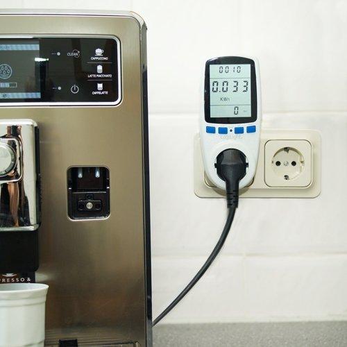 Energiekostenmessger/ät Stromverbrauchsz/ähler Deutscher Hersteller Asigo 2er Set Energiekosten-Messger/ät Premium Stromtarif frei einstellbar Stromverbrauch