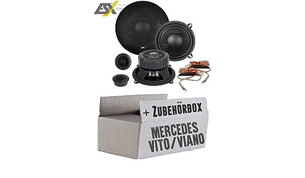 Lautsprecher Boxen ESX HZ5.2C Horizon - 13cm Auto Einbausatz ...