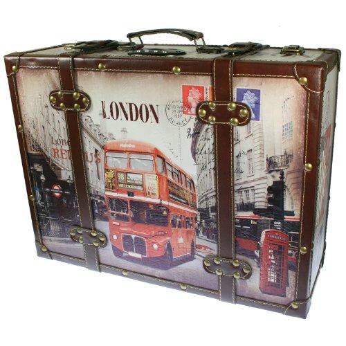 Tocadiscos Maleta Modelo Londres con Lector de USB y Tarjetas SD ...