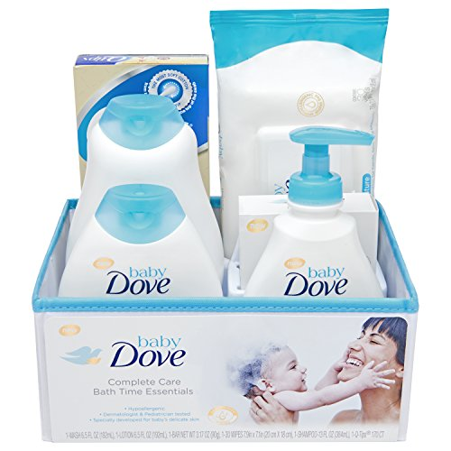 Baby Dove Complete Care Bath Time Essentials Gift Set 6