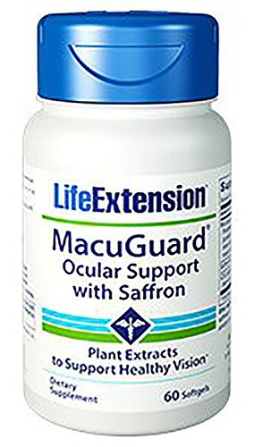 Cheap Life Extension Macuguard Ocular Support, 60 Softgels (2 Pack)