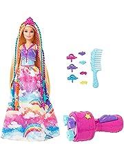Barbie GTG00 - Barbie Dreamtopia Twist 'n Style-prinsessdocka för Hårstyling med Tillbehör, för Barn som är 3 till 7 år
