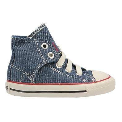 Steckdose online heiße Angebote Qualitätsprodukte Converse, Kinder Chucks Easy SLIP Hi Denim Gr. 24: Amazon.de ...