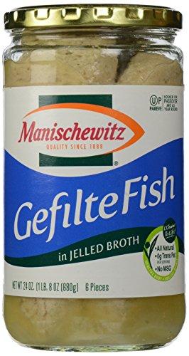 Manischewitz, Gefilte Fish Jelled, 24 oz ()