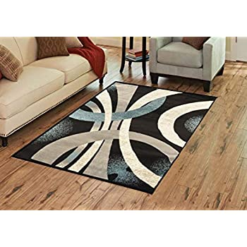Amazon Com Msrugs Frize Collection Contemporary Area Rugs