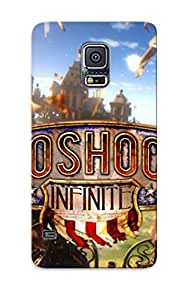 High Quality Tpu Case/ Bioshock Infinite AKWiRNR10612wlmvI Case Cover For Galaxy S5 For New Year's Day's Gift