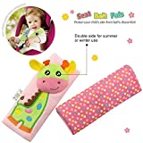 Infant and Baby Car Seat Strap Covers,Stroller Belt