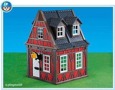 7785 - PLAYMOBIL - Rotes Fachwerkhaus
