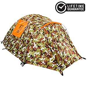 Chillbo CABBINS 2 Person Camping Tent – Best Camping Tent Great Gift for Campers Camping Accessories for Backpacking Music Festival Kids Tent Beach Tent Best Tents for Camping Cool Camping Gear