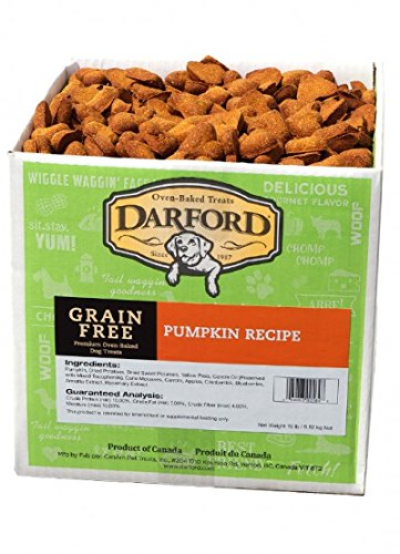 Darford Naturals Treat Grain-Free Pumpkin Treat, Jumbo/19 lb by Darford