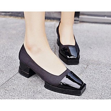 Spring Black Comfort Heels EU37 Leather 3 Real RTRY Comfort 5 Women'S Casual 7 UK4 1In 1 4In 5 CN37 5 US6 fF18qWXg