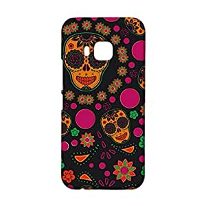 Htc One M9 Phone Case,Colourful Art Kaleidoscope Printed Pattern Premium Exquisite 3D Flexible Hard Phone Case for Htc One M9