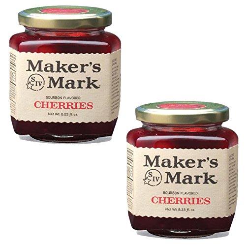 makers-mark-bourbon-flavored-gourmet-jar-of-cherries-2-pack