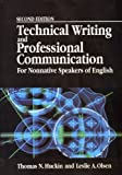 Technical Writing and Professional Communication for Non-Native Speakers, Huckin, Thomas N. and Olsen, Lesley A., 007030825X