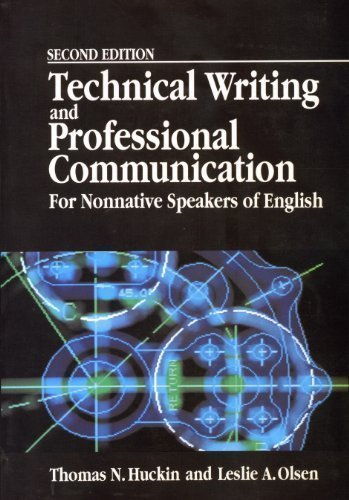 Technical Writing And Professional Communication For Nonnative Speakers Of English