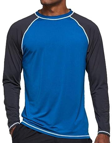 Sea-Doo Rash Guard T-Shirt de Protection /à Manches Courtes pour Homme en Tissu /élastique Protection Solaire UV Rashguard