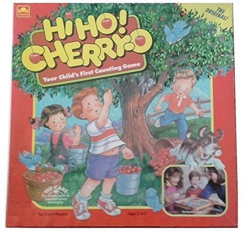 Hi-Ho! Cherry-O; Your Child's First Counting Game (1992) (1992 Classic Game)