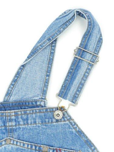 Revolt Women's Plus Size Denim Jean Blue Overalls Size 20