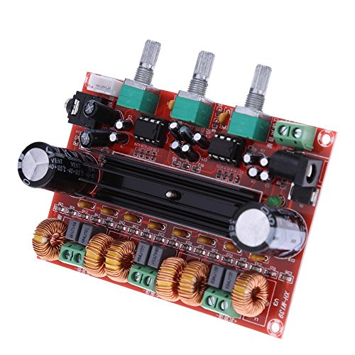 WINGONEER® TPA3116D2 2x50W+100W 2.1 Channel Digital Subwoofer Power Amplifier Board DC12V-24V