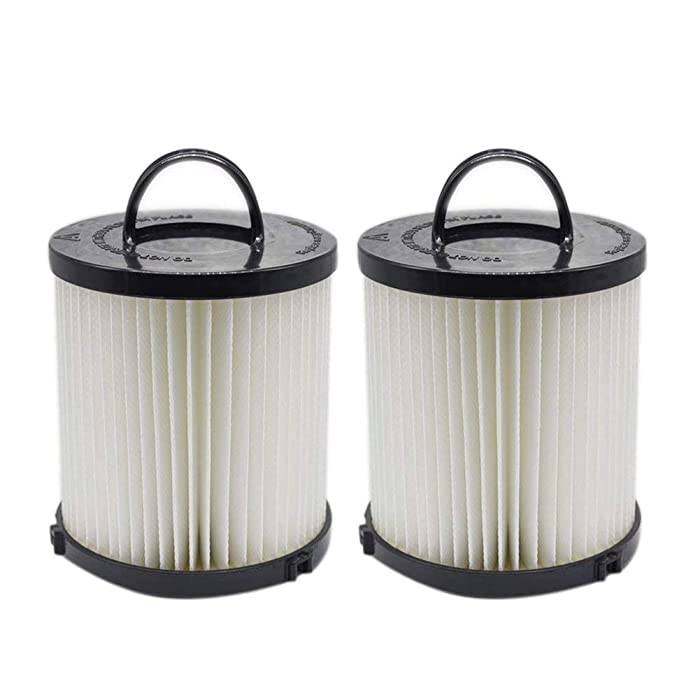 EZ SPARES 2Pcs Eureka DCF-21 (DCF21) Premium Washable Reuseable Allergen Hepa Filter Compare to Eureka Part Nos. 67821, 68931, EF91 Fits Eureka/Sanitaire AirSpeed Bagless Vacuums