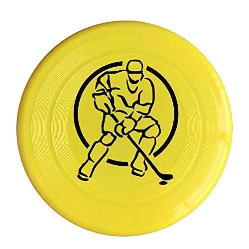 [VOLTE Hockey Yellow Flying-discs 150 Grams Outdoor Activities Frisbee Star Concert Dog Pet Toys] (Hockey Stanley Cup Costume)