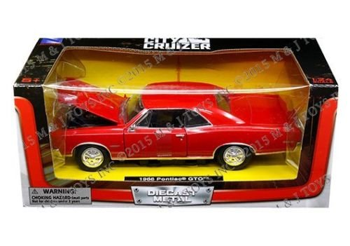 New Ray NEW 1:24 W/B NEWRAY CITY CRUISER COLLECTION - RED...