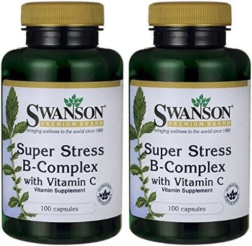 Super Stress B Complex 100 Caps Pack of 2