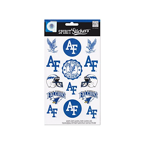 me & my BIG ideas Officially Licensed NCAA Spirit Stickers, Air Force