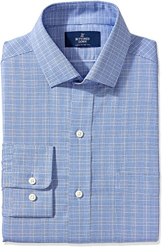 Buttoned Down Men's Non-Iron Classic-Fit Spread-Collar Dress Shirt