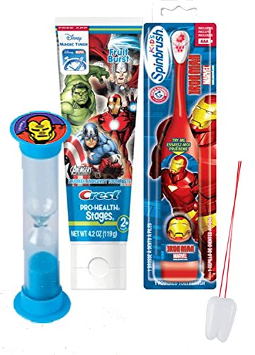 avengers-iron-man-inspired-3pc-bright-smile-oral-hygiene-set-turbo-powered-toothbrush-toothpaste-bru