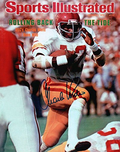 Charles White Signed 8X10 Photo Autograph USC 1978 Sports Illustrated Auto COA (Auto Illustrated Sports)