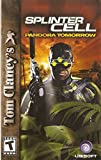 Tom Clany's Splinter Cell: Pandora Tomorrow Instruction Booklet (Sony PlayStation 2 Game Manual User's Guide only - NO GAME)