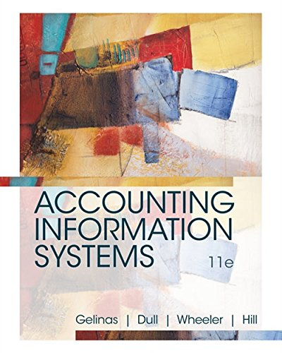 (Accounting Information Systems)
