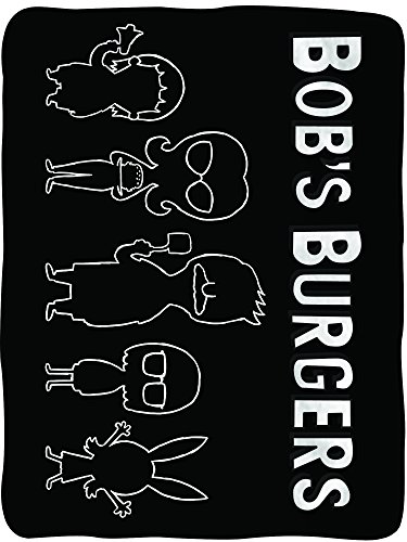 Bob's Burgers Soft Fleece Blanket