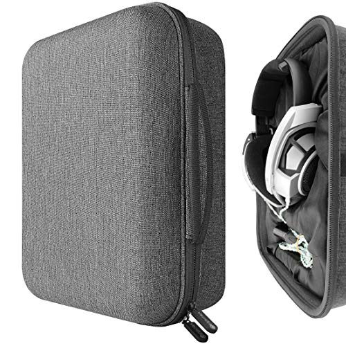 Cheap Geekria UltraShell Headphone Case for Sennheiser HD820, HD800 S, HiFiMAN Ananda-BT, Arya, HE1000, Audeze LCD-2, LCD-3 Headphones - Replacement Extra Large Hard Shell Travel Carrying Bag geekria