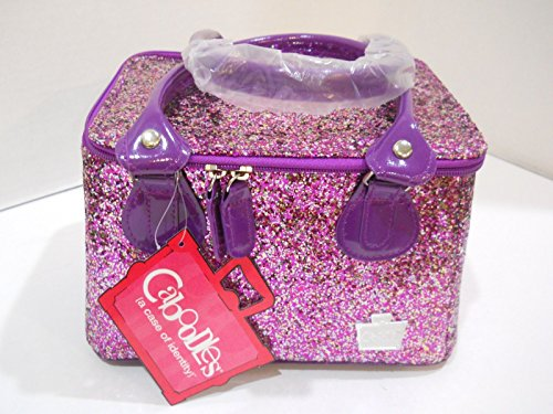 caboodles-tapered-tote-sassy-makeup-cosmetic-bag-purple-heavy-glitter