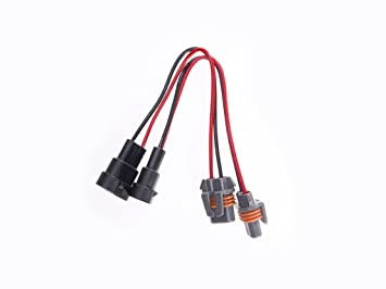 51wh6hp7mdL._SX355_ amazon com halo automotive wh9006 plug and play upgrade wire plug and play wiring harness at bayanpartner.co
