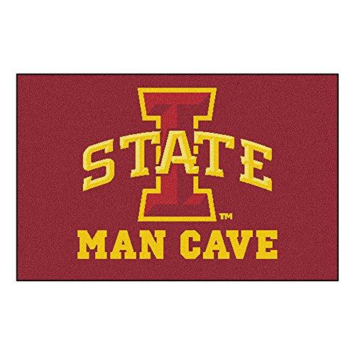 Iowa State Rug (FANMATS 14556 Iowa State University Nylon Universal Man Cave Starter Rug)