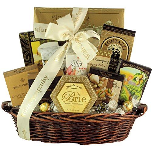 Great Arrivals Sympathy Gift Basket, In Loving Memory