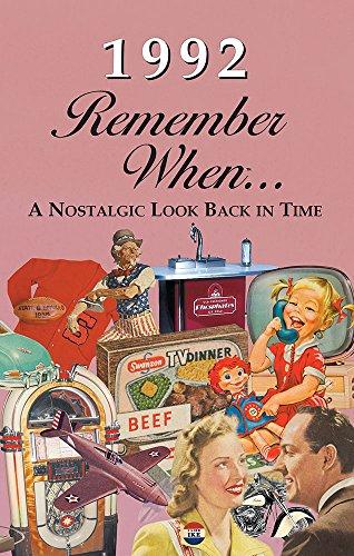 Seek Publishing 1992 Remember When KardLet (RW1992)