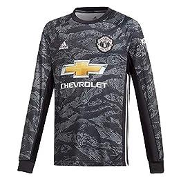 adidas 2019/20 Manchester United Maillot de Gardien de But pour Enfant Noir